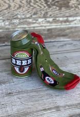 little BLUE  HOUSE Beer Bottles Men's Beer Can Socks