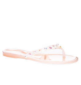 Chinese Laundry Hearts Jelly Sandal