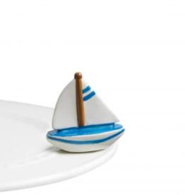 nora fleming Sailboat Mini A136