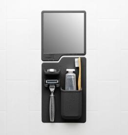 Toothbrush Holder & Shower Mirror