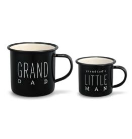 Grand Dad & Little Man Camper Mug Set