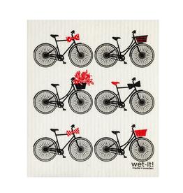Bikes Wet It