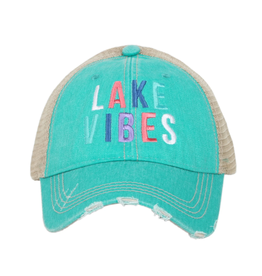 Lake Vibes Trucker Hat - Teal