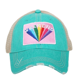 Weekend Truckers Hat - Teal