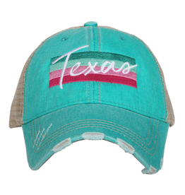 Texas Truckers Hat - Teal