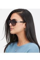 Brighton Crystal Halo Sunglasses - Tortoise