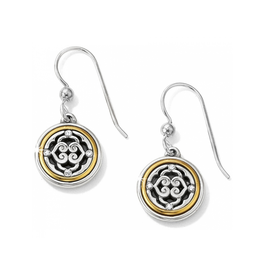 Brighton Intrigue French Wire Earrings - Silver&Gold