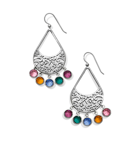Brighton Elora Gems Drops French Wire Earrings - Multi
