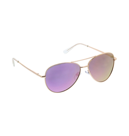 Peepers Heat Wave Sunglasses Pink & Gold