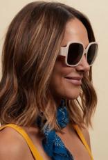 Peepers Carmen Sunglasses - Taupe