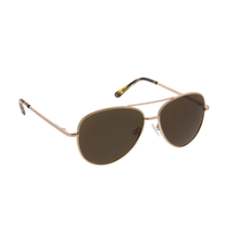 Peepers Heat Wave Sunglasses - Gold