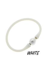 Gigi Baroque Pearl Silicone Bracelet