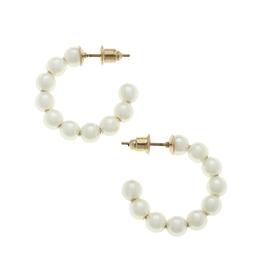 Demi Ivory Pearl Earring