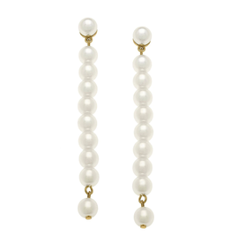 Macy Pearl Drop Earrings
