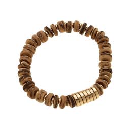 Henley Brown Wood Bracelet