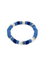 Emberly Navy Polymer Bracelet