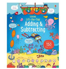 EDC Publishing Lift-the-Flap Q&A: Adding & Subtracting