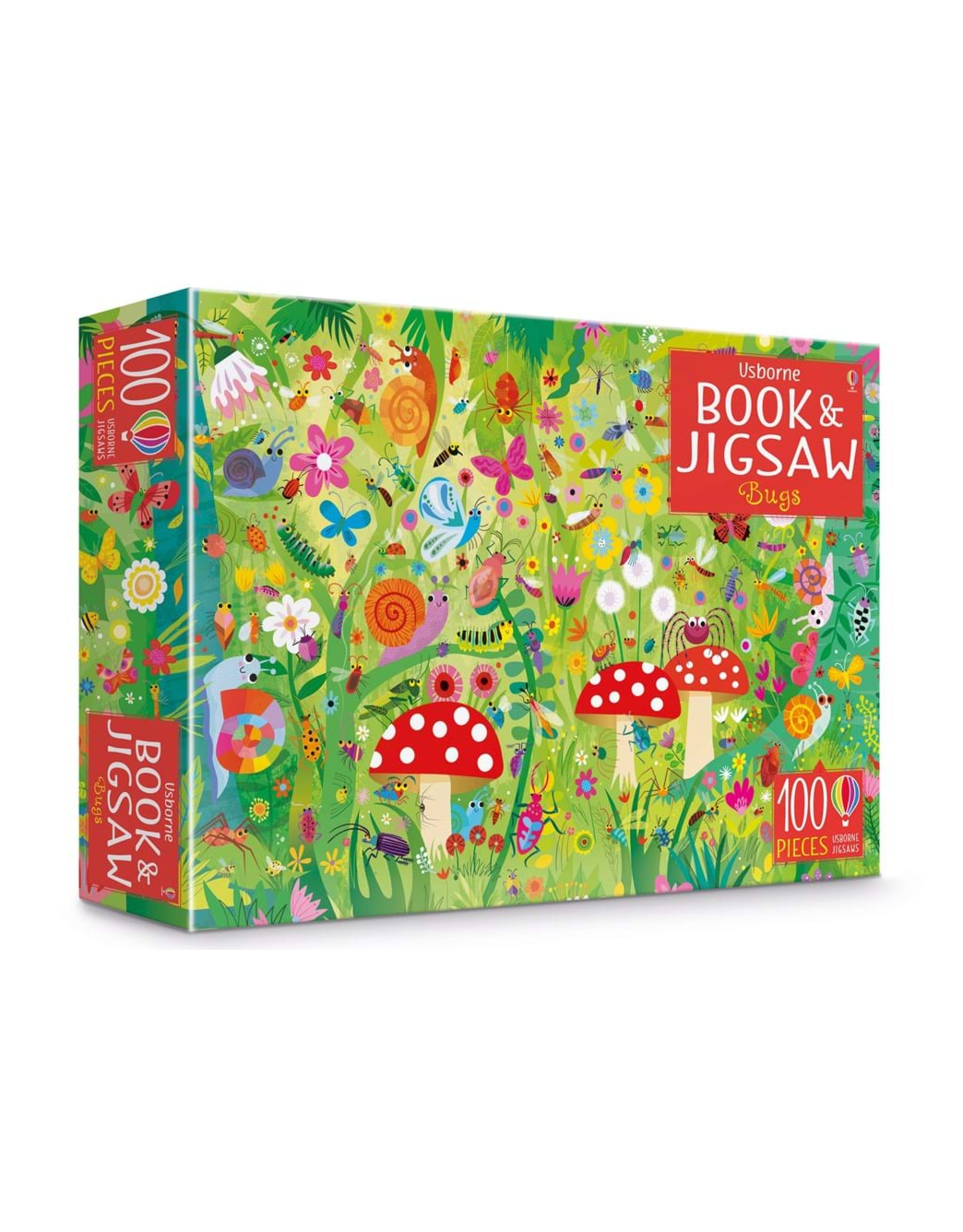 EDC Publishing Book & Jigsaw Puzzle - Bugs
