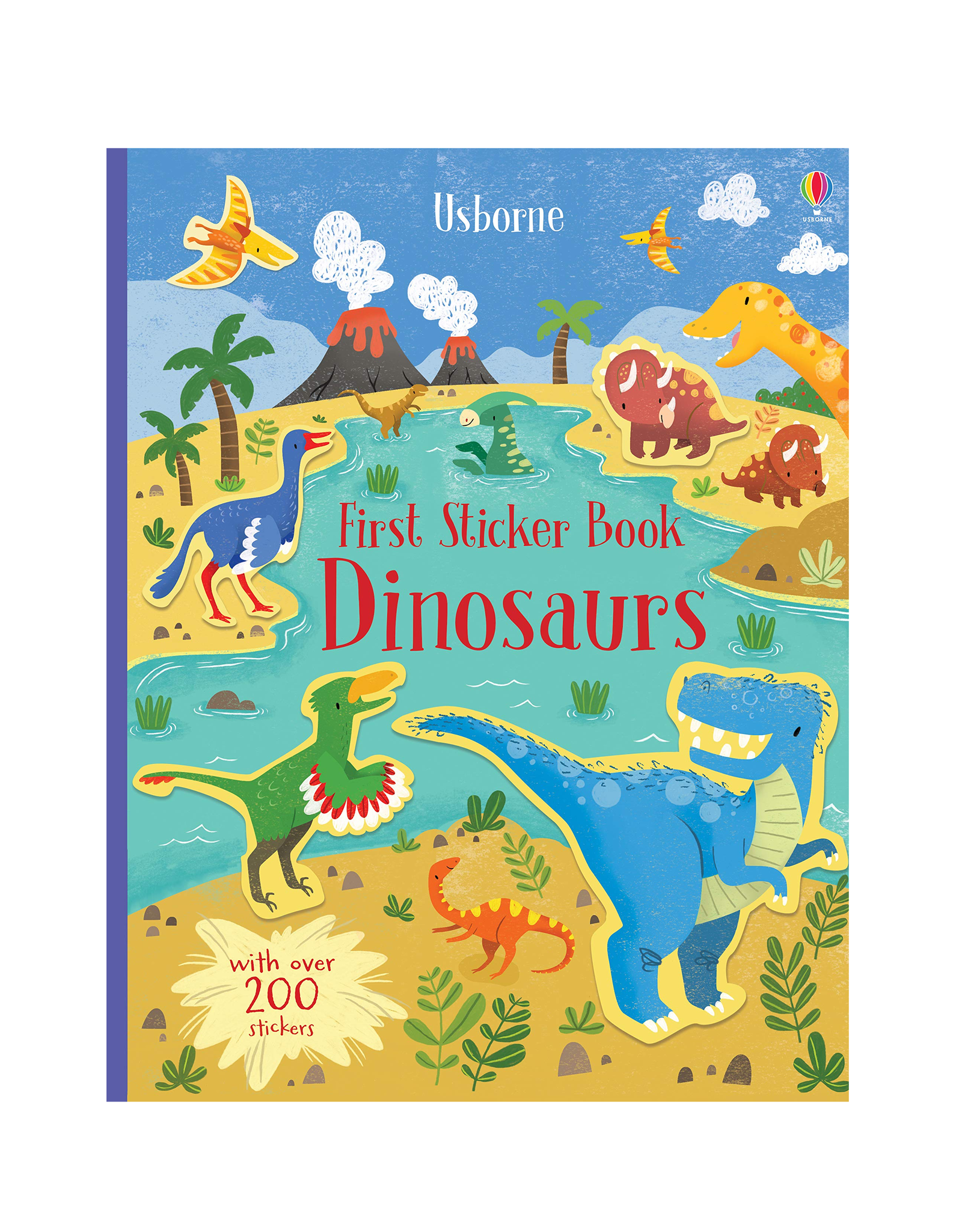 EDC Publishing First Sticker Book Dinosaur