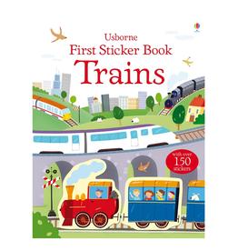 EDC Publishing First Sticker Book Trains