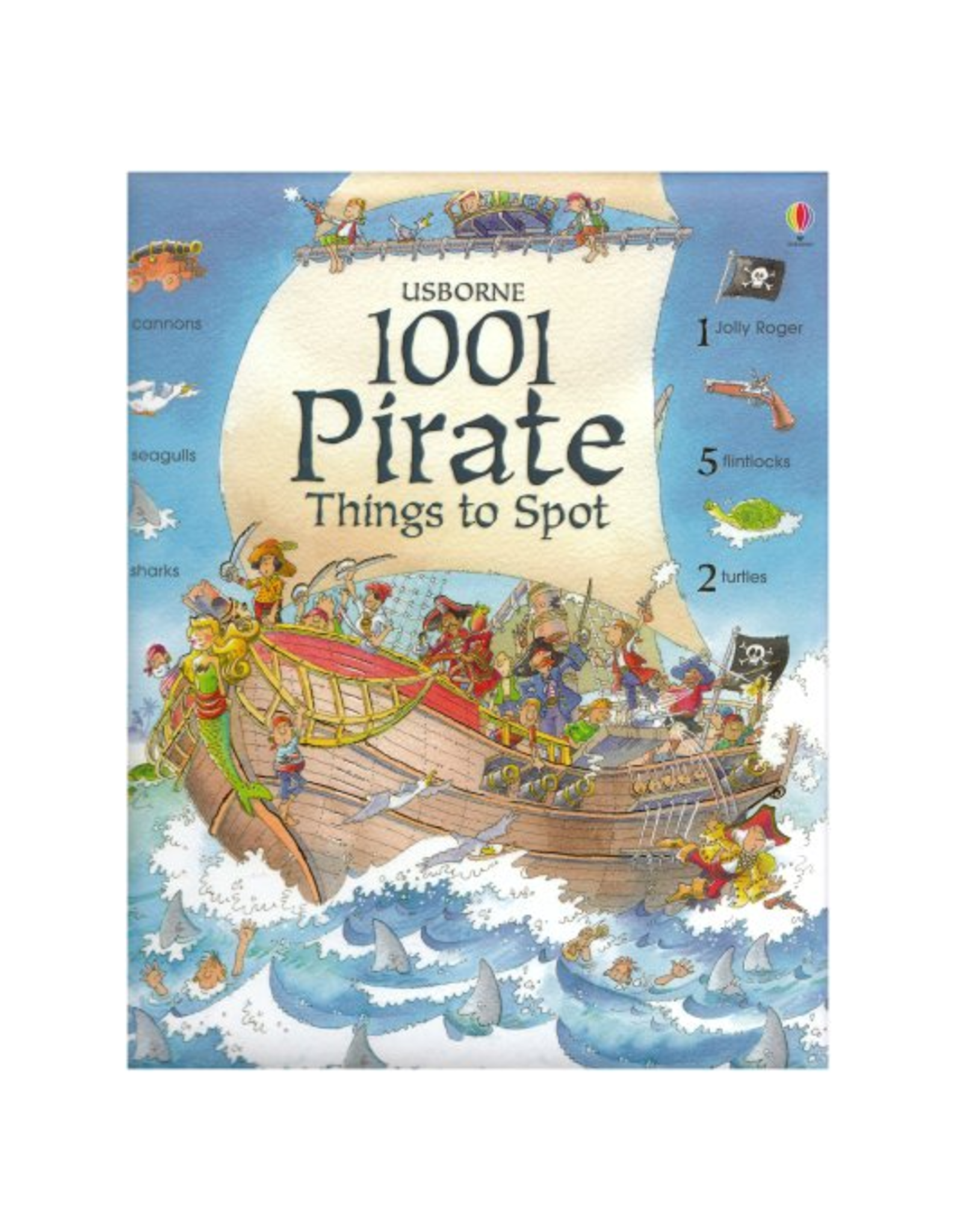 EDC Publishing 1001 Things to Spot Pirate Things