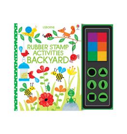 EDC Publishing Rubber Stamp Activities - Backyard