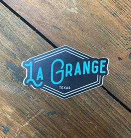 Turquoise La Grange Sticker