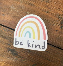 Be Kind Rainbow Sticker