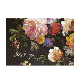 Peter Pauper Press Boxed Note Cards - Midnight Floral