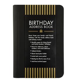 Peter Pauper Press Birthday Address Book