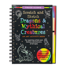 Peter Pauper Press Scratch & Sketch - Dragons & Mythical Creatures