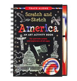 Peter Pauper Press Scratch & Sketch - America
