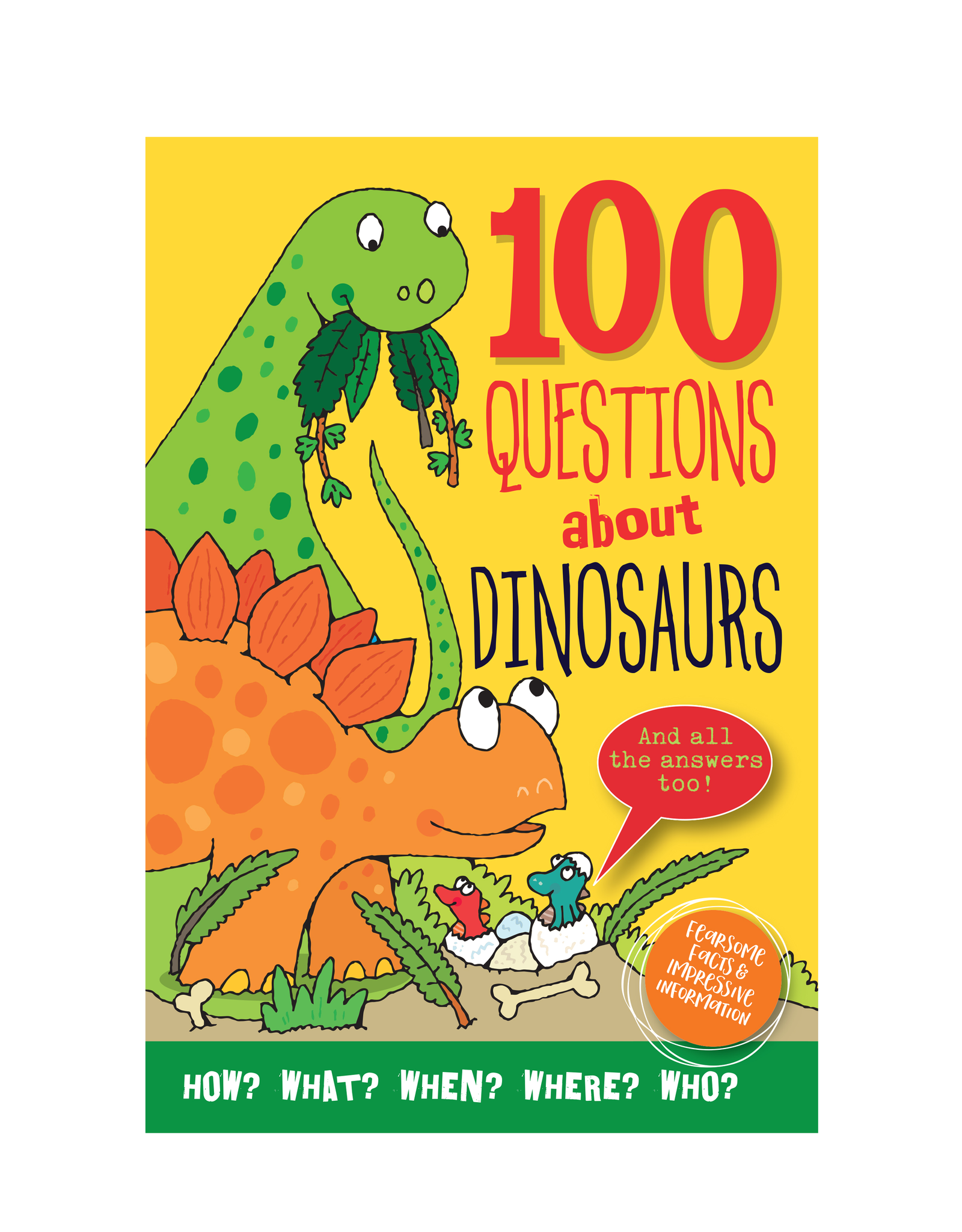 Peter Pauper Press 100 Questions About Dinosaur