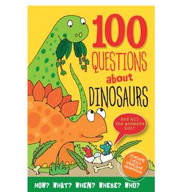 Peter Pauper Press 100 Questions About Dinosaur