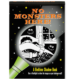 Peter Pauper Press Shadow Book: No Monsters Here