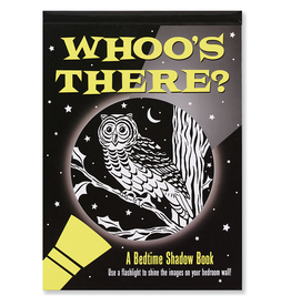 Peter Pauper Press Shadow Book: Whooo's There?