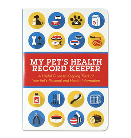 Peter Pauper Press Pet Health Record Keeper