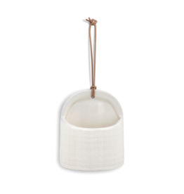 Wide Linen Mini Utensil Crock