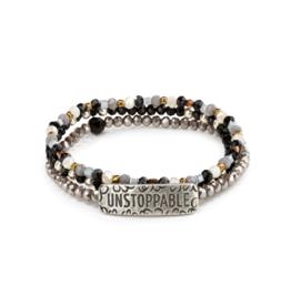She Inspires Bracelet - Unstoppable