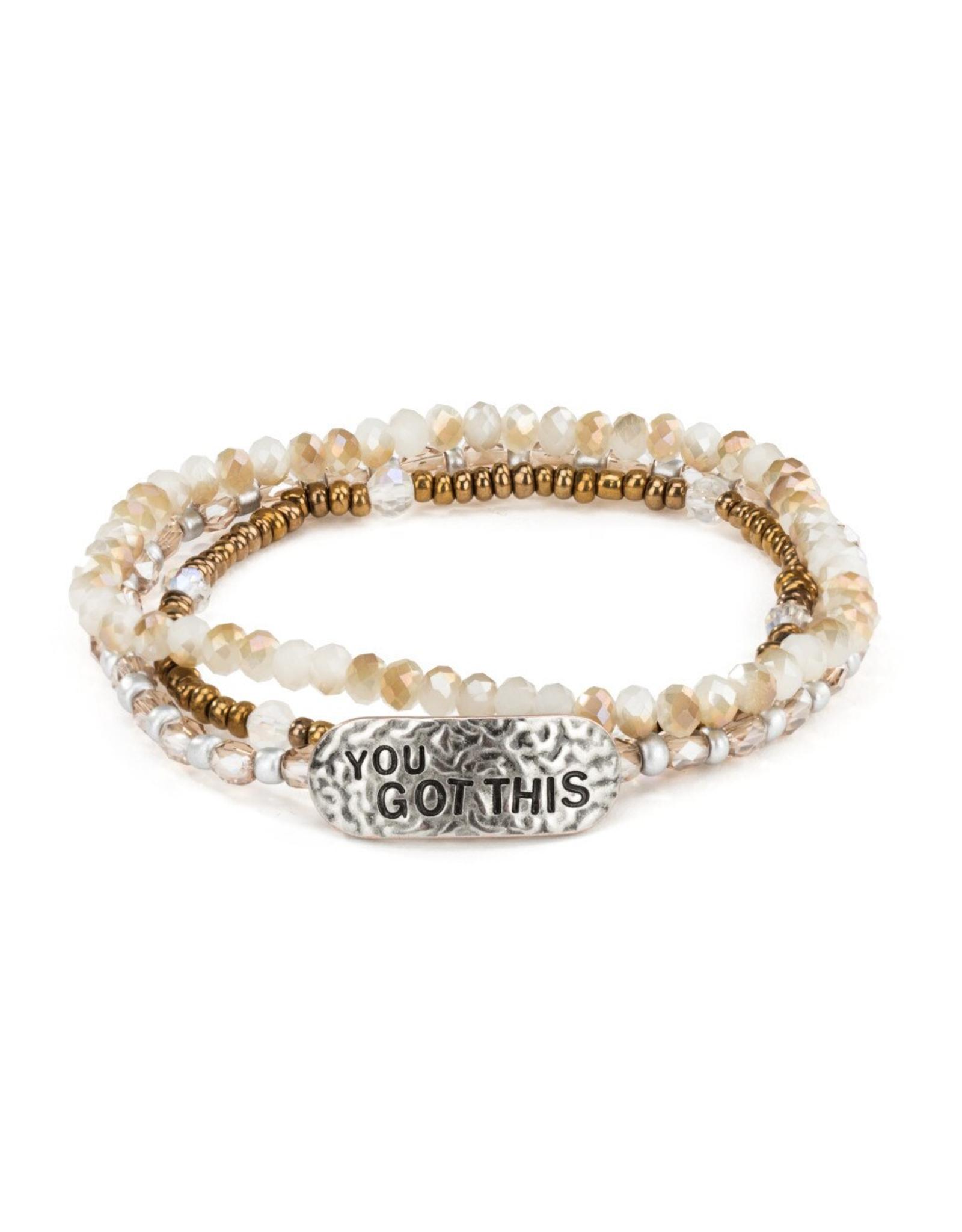 She Inspires Bracelet - You Got This