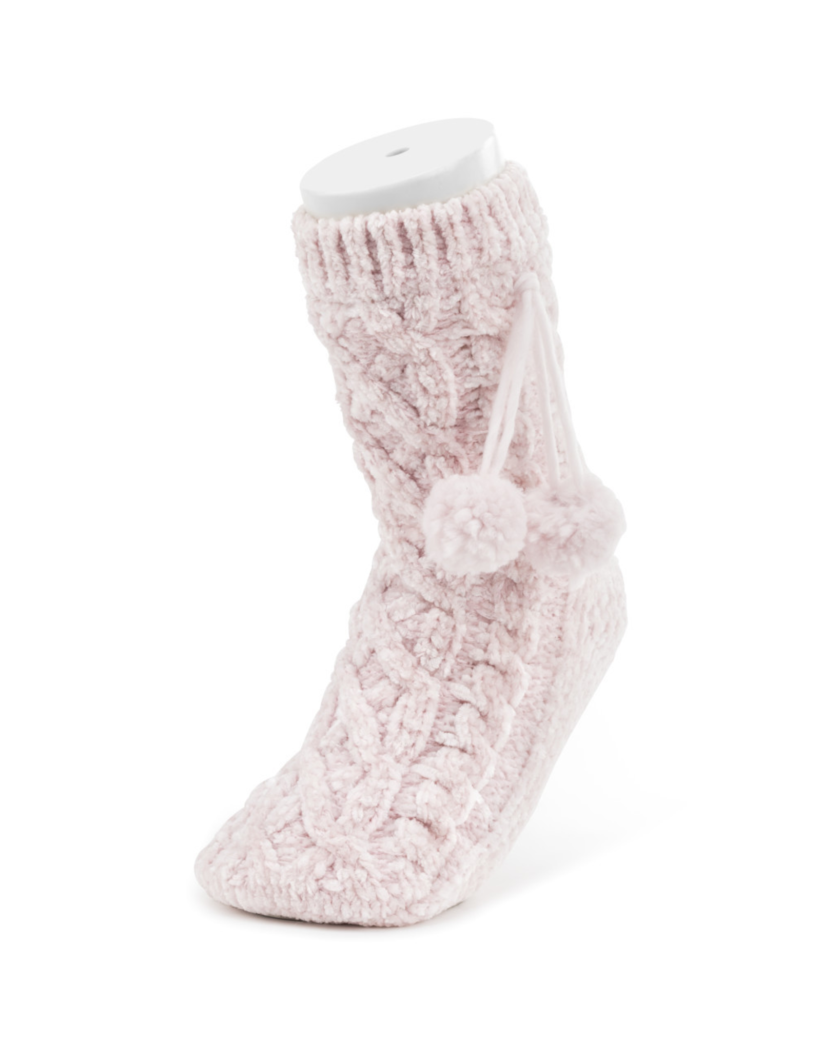 Chenille Slipper Socks - Blush