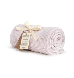 Chenille Throw Blanket - Blush