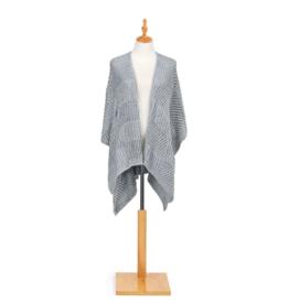 Chenille Kimono - Gray