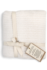 Chenille Throw Blanket - Cream