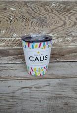 Caus Coffee Tumbler Paint Splash