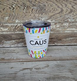 Caus Coffee Tumbler Paint Splash
