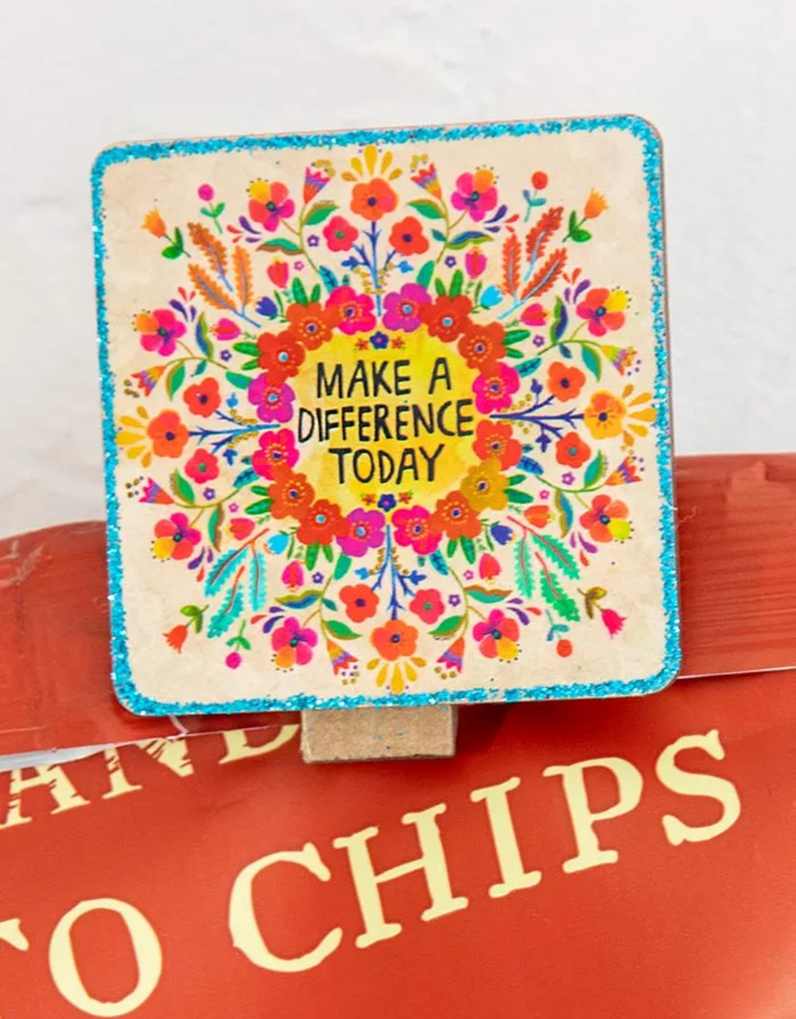 Make a Difference Chirp Magnet Clip