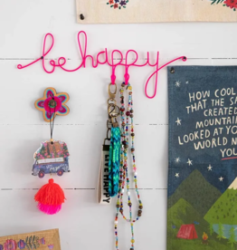 Be Happy Wire Jewelry Holder