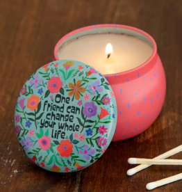 One Friend Mini Tin Candle