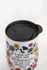 Wise Girl Wine Tumbler